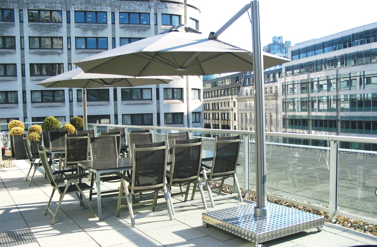 Commercial Parasols For The Leisure And Catering Industry Morton